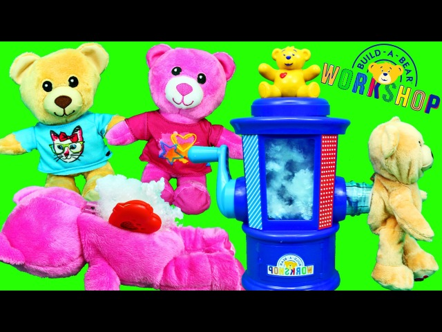 Build-A-Bear Workshop Stuffing Station Where You Can Make Plush at Home
