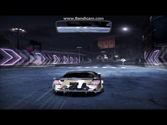 NFS Carbon Гонка на SLR McLaren