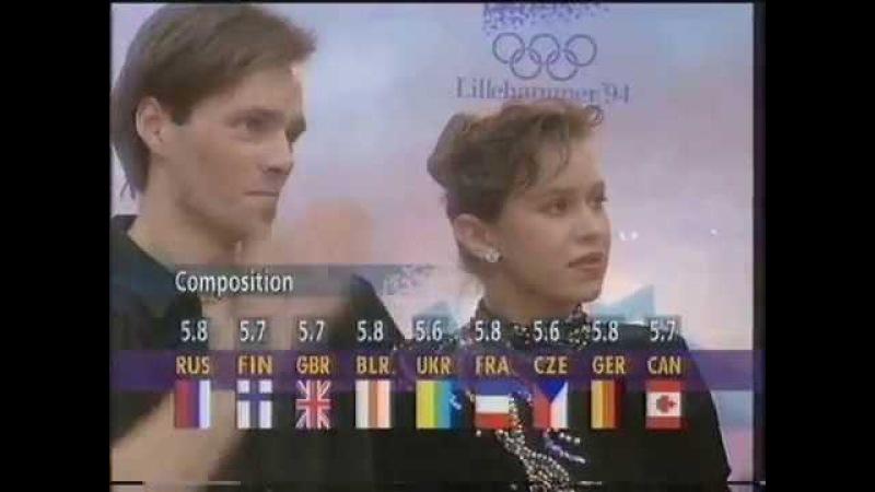 Grishuk Platov OD Rhumba Olys 1994 Грищук Платов ОТ Румба ОИ 1994