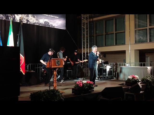 L'esibizione live di Pupo e L'Orage alla Festa della Valle d'Aosta 2018