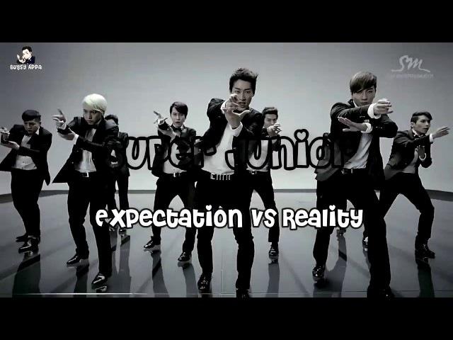 Super Junior Expectation vs Reality Part 1