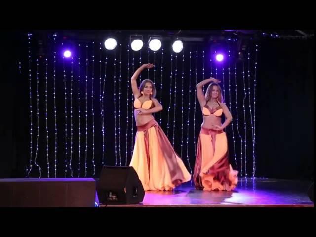 Дуэт восточного танца Амор Салвидж Елена Сычева и Екатерина Ярцева
