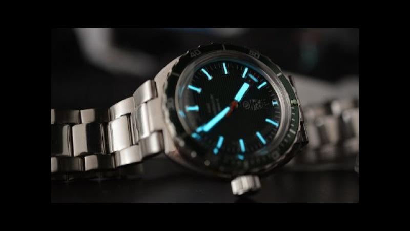 Обзор часов Восток Амфибия Нептун 960726 второго поколения.