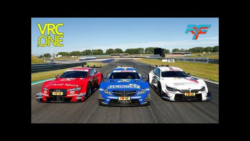 VRC rF2 DTM 2017 - Round 15 - Hockenheimring