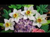 Tutorial Quilling Daffodils Flowers - DIY