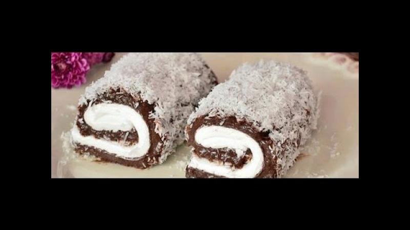 Султановые голубцы, рулетики / Sultanova slatka sarma / THE BEST cream desserts EVER