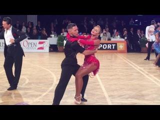 Timur and Nina Rumba, WDSF WORLD Latin 2017