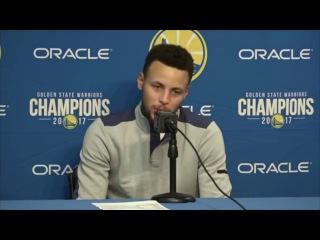 Stephen Curry Postgame Interview / GS Warriors vs Pelicans / Nov 25