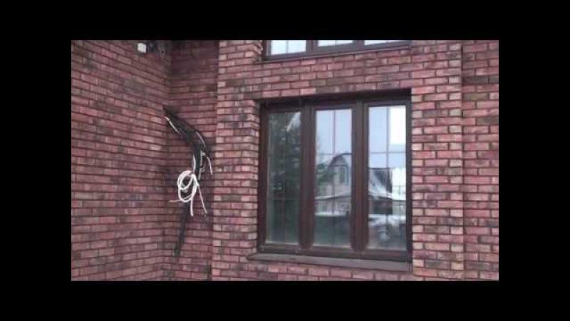 Дом и банька облицованы клинкерным кирпичом Wienerberger Terca