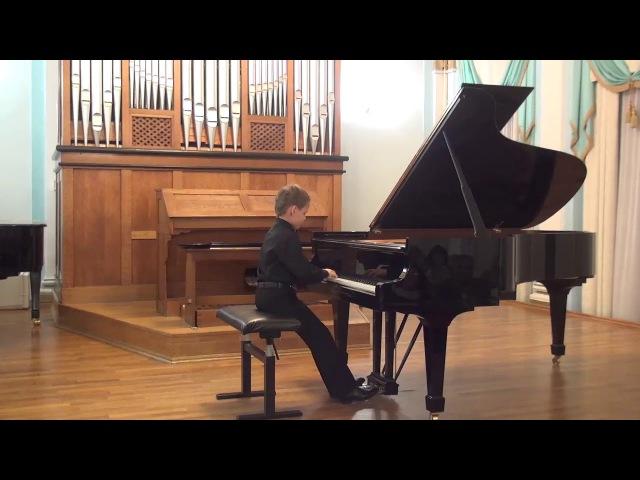 15.11.2017 Concert Hall On Kislovka. Concert of Mira Marchenko' class students. I-st Part