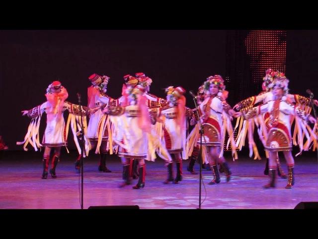 Выступление Вокально-хореографической студии
