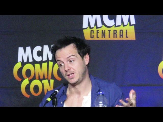 Andrew Scott Comic Con London 29 10 2017 part 5