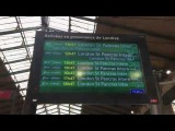 Paris Gare du Nord Eurostar departures Dec 17