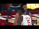 Прохождения NBA 2K18 46 серия Minnesota Timberwolves против команды Houston Rockets