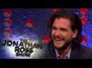 Kit Harington's Epic April Fools Day Prank On Rose Leslie - The Jonathan Ross Show