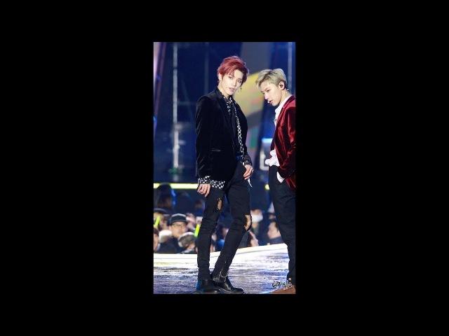 180224 NCT U (엔시티 유) 태용 Baby Dont Stop 강릉 케이팝 월드페스타 직캠(Fancam) by 니키식스