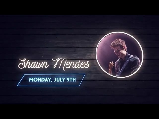Shawn will be performing at the Cavendish Beach Music Festival in Cavendish, Canada on July 9th.