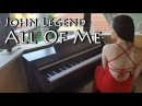 John Legend All of me Piano cover by Yuval Salomon