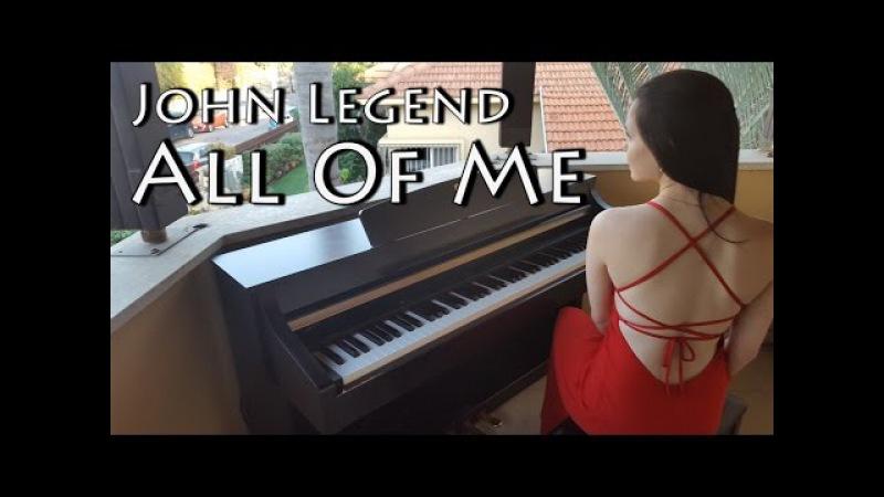 John Legend - All of me | Piano cover by Yuval Salomon
