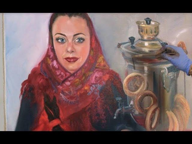 Часть 1. Русская красавица с самоваром. Ольга Базанова