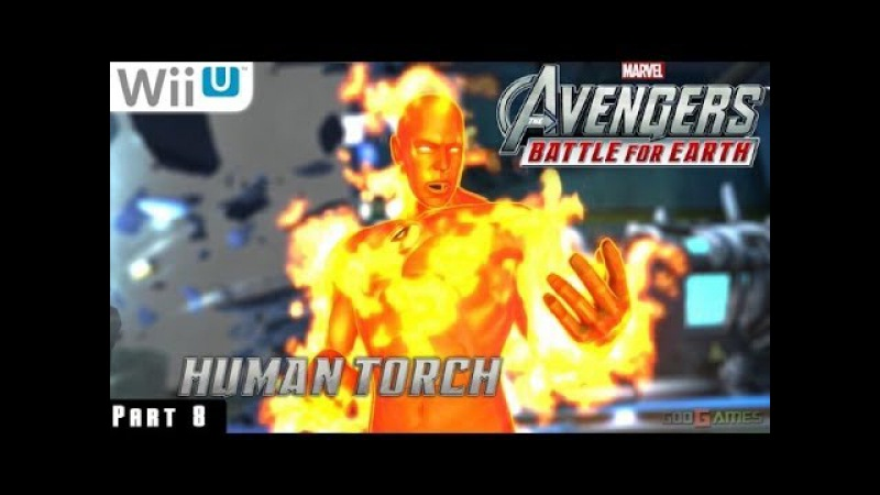 Marvel Avengers Battle for Earth - WiiU Gameplay 1080p part 8 (Baxter Building Completed)