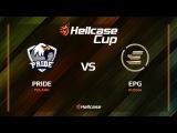 PRIDE vs EPG, mirage, Hellcase Cup 6