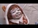 Куклы, куклы, куклы. На выставке кукол на Тишинке.