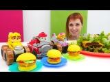 Готовим вместе с игрушками Щенячий патруль и Машей Капуки