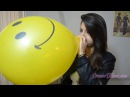 Samdi Playing with 12 Balloons [Sit popping - Nail popping - Blow to Pop - Stomp to pop]