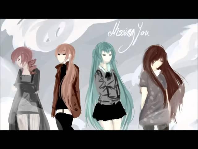 【VOCALOID UTAU】Missing You【IROHA, MIKU, TETO, RITSU】