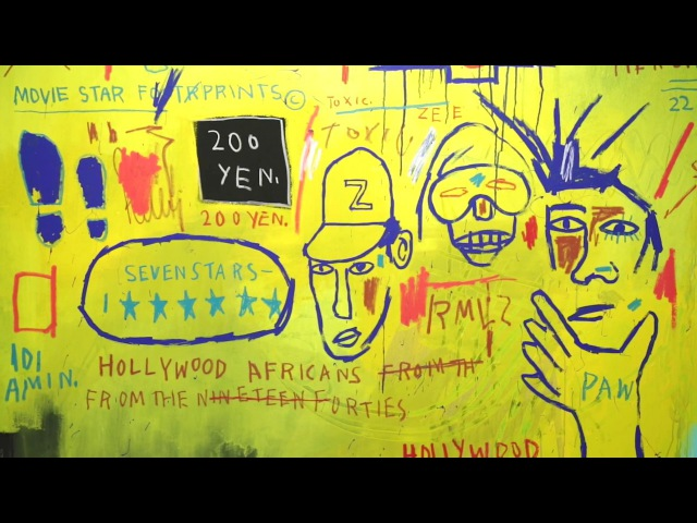 'Basquiat: Boom for Real' at the Barbican Art Gallery