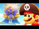 Super Mario Odyssey БОСС ГОЛОВАСТИК и Пляжное царство Прохождение игры СУПЕР МАРИО ОДИСС