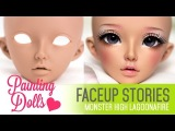 Repainting Fairyland MNF Celine - Faceup Stories 35