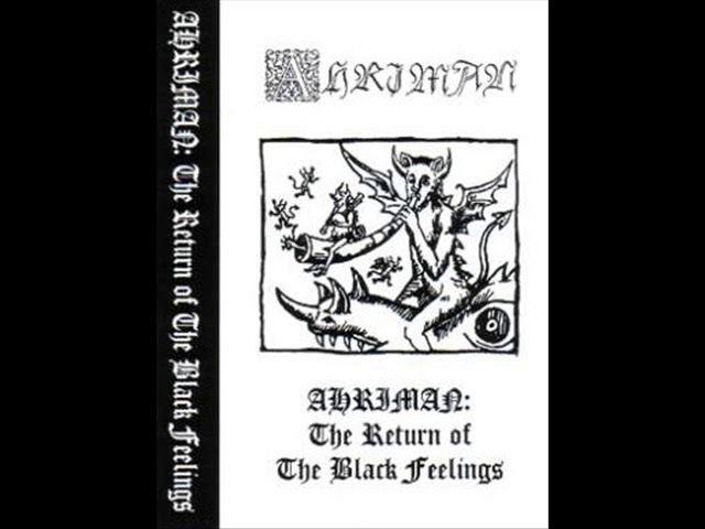 AHRIMAN (HUNG.) THE RETURN OF THE DARK FEELINGS DEMO 1996
