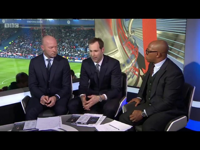 Cech talks about goalkeepers playing different competitions on BBC