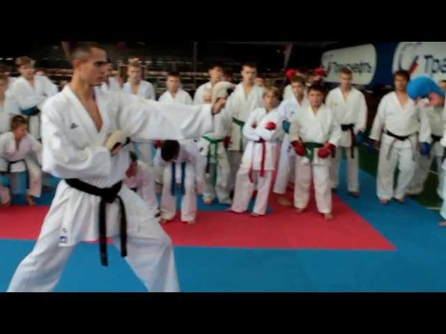 УТС Эльдарушев каратэ WKF 21-22 сентября 2013 г. часть 4