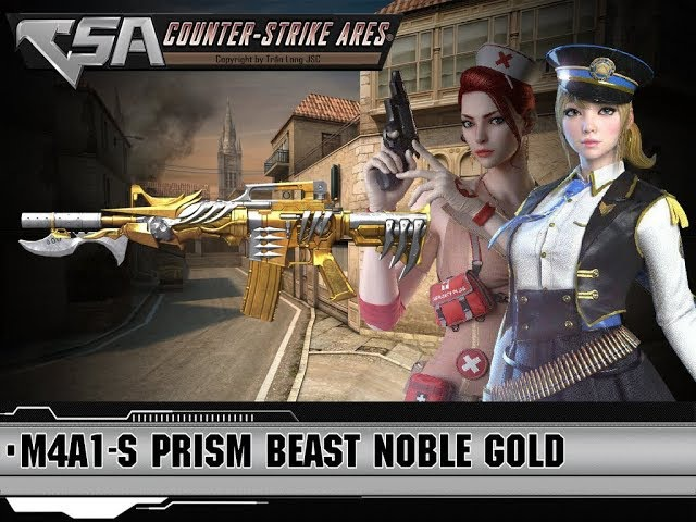 [CF OFFLINE 2017][M4A1 S PRISM BEAST NOBLE GOLD][CFNA] Version Game For Brasil and Russia Friend!