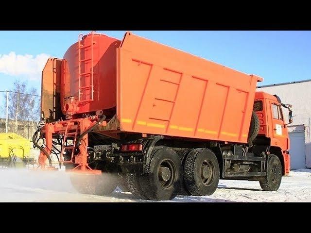 ROAD MASTER (аналоги КО-848, КО-829, МК-3435) - автомобильный распределитель соли и песка