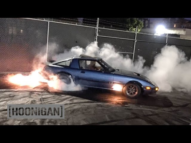 [HOONIGAN] DT 159: Angel Motorsports 400hp FB RX-7 (13B Turbo II Rotary Engine)