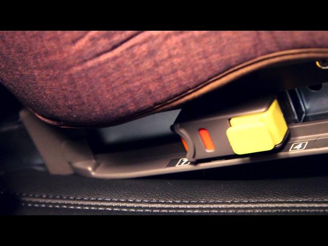 D-guard Toddler Junior ISOFIX (D-1004, 1005 ISOFIX) Car Seat Installation