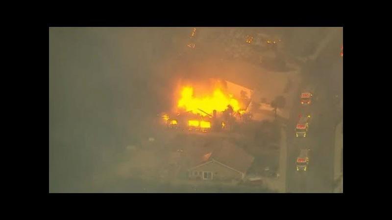 Энергетическое оружие. Искусственные пожары в Калифорнии