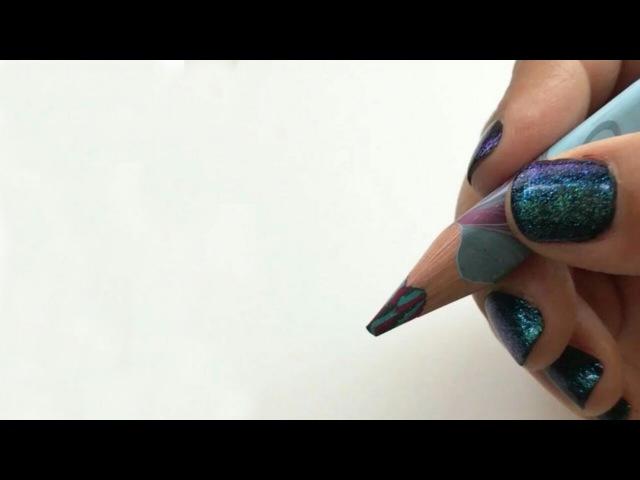 Каллиграфия и леттеринг маркером ручкой и карандашом
