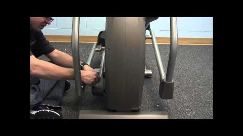 Сборка домашнего эллиптического тренажера Spirit Fitness