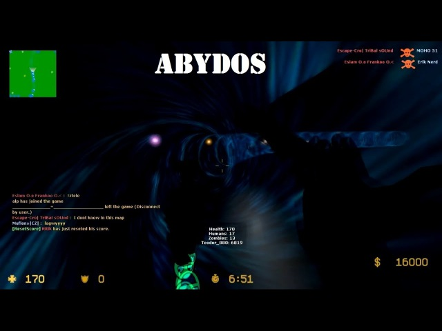 Counter-Strike Source - Zombie Escape - Sg Missions - ze_sg_missions_v2 - Abydos