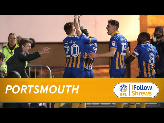 HIGHLIGHTS: Town 2 Portsmouth 0