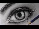 Como desenhar um olho realista How to draw realistic eye