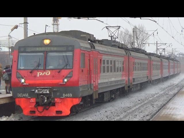 Электропоезд ЭД4М-0469, платформа Окружная