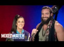 Wrestling Premium Bayley Elias stand up for Americares in WWE Mixed Match Challenge