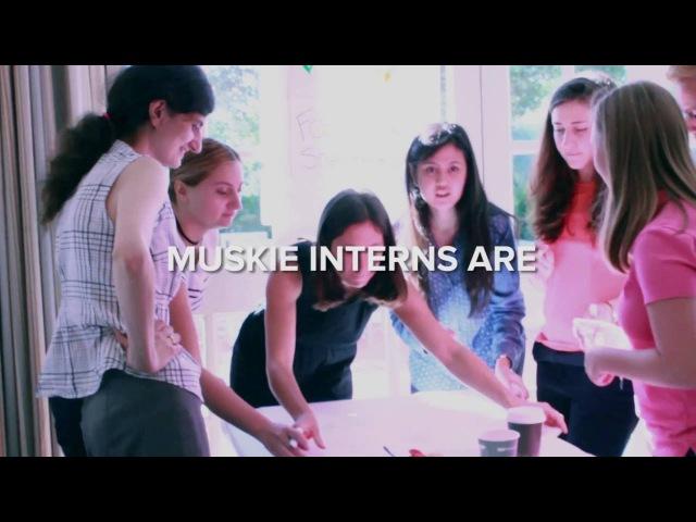 Edmund S Muskie Internship Program Cultivating Future Leaders