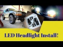S10 Blazer LED Headlight Upgrade